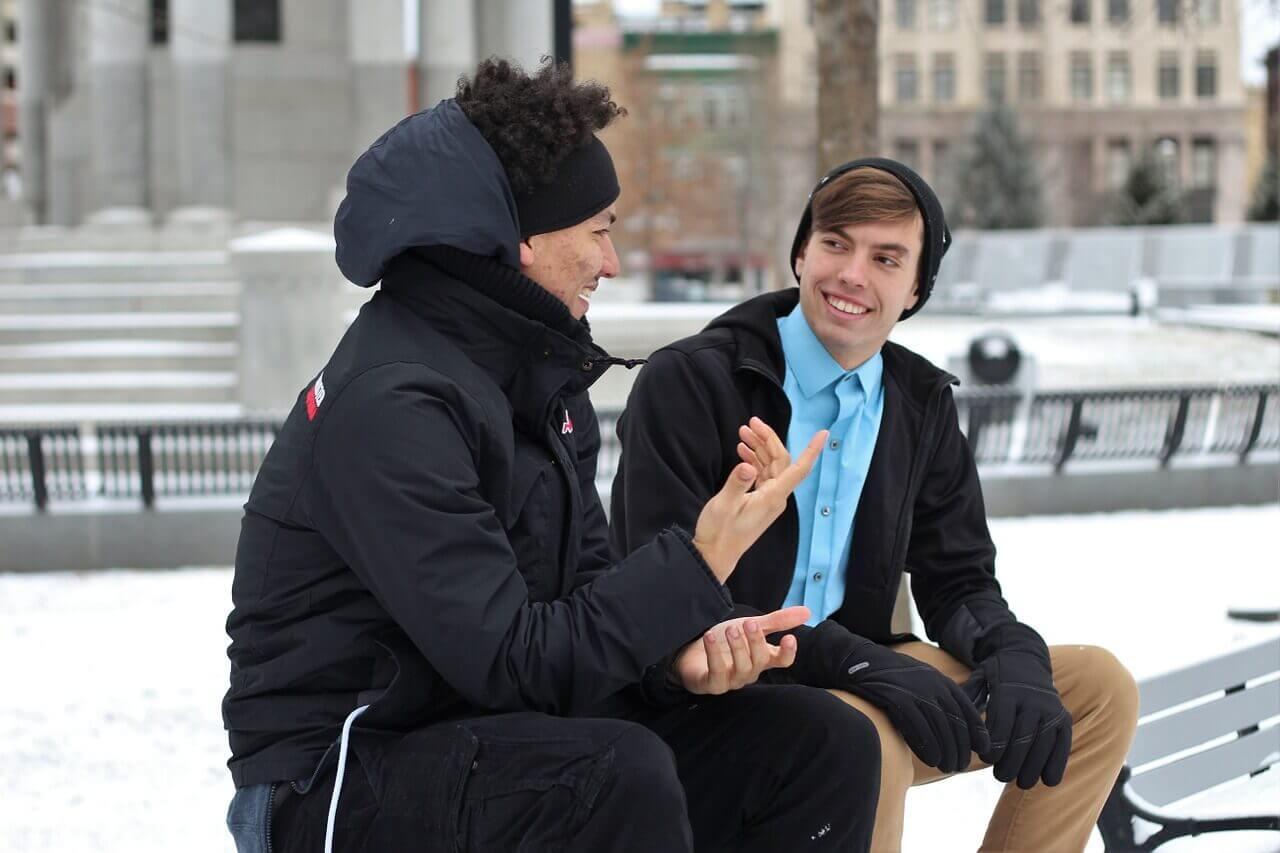 研究以外に頑張ったこととしてコミュニケーション能力を発揮した経験