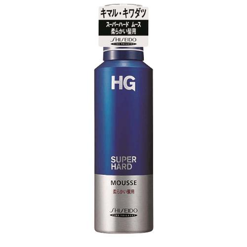 スーパーハード ムース 柔かい髪(HG)